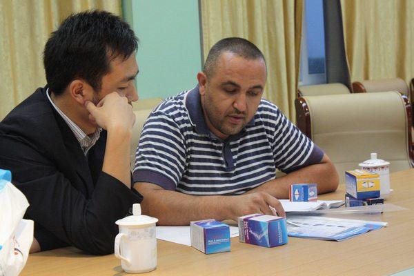 阿尔及利亚GROUPE MAALA集团公司经理Mr.Maala Smair来我公司参观考察